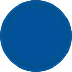 Bright Royal Blue Paper Plates 23cm - 12 PKG/8