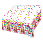 Barbie Sparkle Plastic Tablecover 1.2m x 1.8m - 6 PKG