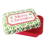 Holly Plastic Rectangle Boxes 7cm x 21cm x 15cm - 15 PC