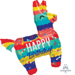 "Pinata Party SuperShape XL Foil Balloons 29""/73cm x 33""/83cm P35 - 5 PC"