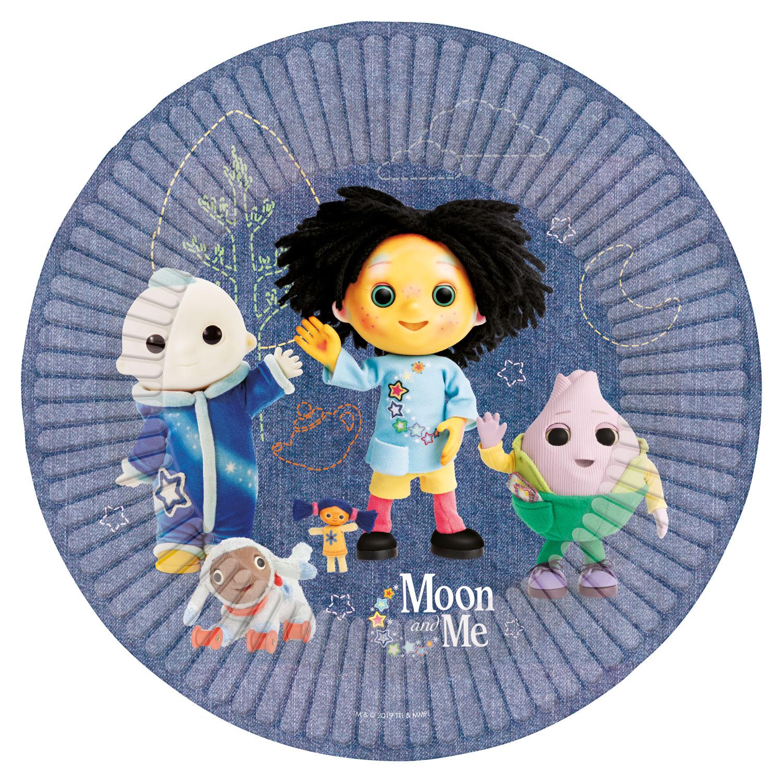 Moon And Me Paper Plates 23cm 6 Pkg 8 Amscan International