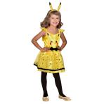 Pikachu Costume - Age 10-12 Years - 1 PC