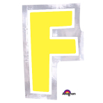 Personalised Letter: F Stickers - 48 PC