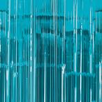 Caribbean Blue Door Curtain 91cm x 2.43m - 6 PC