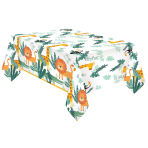 Get Wild Paper Tablecovers 1.8m x 1.2m - 6 PC