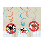 Bing Swirl Decorations - 6 PKG/6