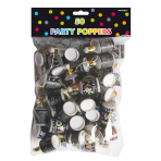 Standard Party Poppers 6 PKG/50