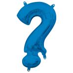 "Symbol ! Blue Minishape Foil Balloons 16""/40cm A04 - 5 PC"