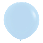 "Pastel Matte Solid Blue 640 Latex Balloons 24""/60cm - 3 PC"