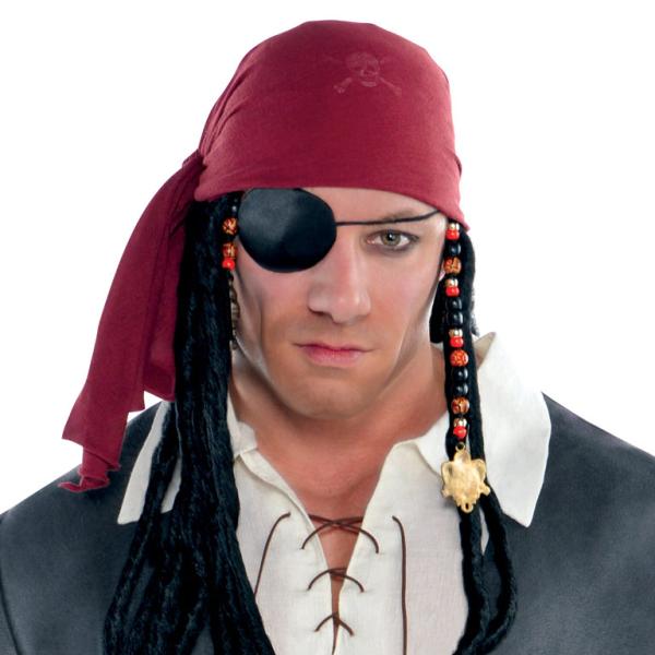 Adults Captain Castaway Pirate Costume - Plus Size - 1 PC