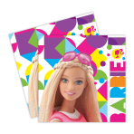 Barbie Sparkle Luncheon Napkins 33cm - 6 PKG/20