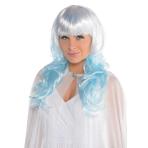 Ice Fairy Platinum Shimmer Wig - 3 PC
