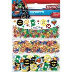 Justice League 3 Pack Confetti Value 34g - 12 PC