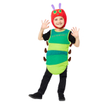 The Very Hungry Caterpillar Costume - Age 3-5 Years - 1 PC