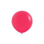 "Fashion Colour Solid Raspberry 014 Latex Balloons 24""/60cm - 3 PC"