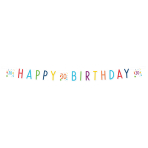 Confetti Birthday 30th Birthday Letter Banners 1.8m - 10 PC