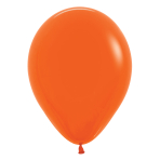 "Fashion Colour Solid Orange 061 Latex Balloons 12""/30cm - 25 PC"