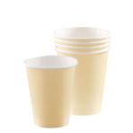 Vanilla Creme Paper Cups 266ml - 12 PKG/8