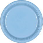 Powder Blue Plates    - 17.7cm - 10 PKG/20