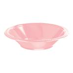 Baby Pink Plastic Bowl 355ml - 10 PKG/20