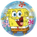 SpongeBob Paper Plates 23cm - 10 PKG/8
