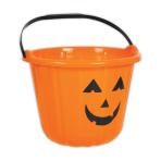 Orange Pumpkin Buckets 16.5cm x 22cm - 48 PC