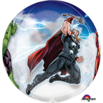 "Avengers Orbz Foil Balloons 15""/38cm w x 16""/40cm h G40 - 5 PC"