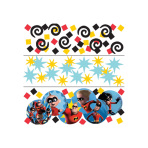 The Incredibles 2 Confetti 3 Packs - 12 PC