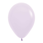 "Pastel Matte Solid Lilac 650 Latex Balloons 12""/30cm - 50 PC"