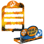 NERF Stand-up Invitations - 6 PKG/8