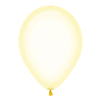 "Crystal Pastel Yellow 321 Latex Balloons 12""/30cm - 50 PC"
