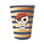 Treasure Island Paper Cups 250ml - 6 PKG/8