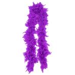 Purple Deluxe Feather Boas - 6 PC