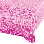 Pink Sparkle Party Paper Tablecovers - 10 PC