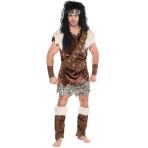 Adults Neanderthal Costume - Size L/XL - 1 PC