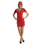 Adults Racing Girl Costume - Size 10-12 - 1 PC
