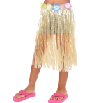 Hawaiian Natural Long Skirts Child Size 50cm x 55cm - 12 PC