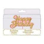 Confetti Fun Pick Candles 8cm - 6 PC