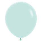 """Pastel Matte Solid Green 630 Latex Balloons 18""""/45cm - 25 PC"""