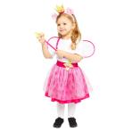 Peppa Pig Princess Costume - Age 3-4 Years - 1 PC
