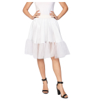 White Petticoat - One Size Fits All - 1 PC