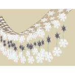 Let it Snow Foil Ceiling Decorations 3.65m x 30.5cm - 6 PC