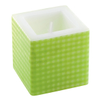 Green Candles 8cm x 8cm - 6 PKG