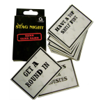 Stag Night Card Games - 6 PKG