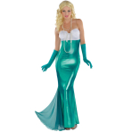 Adults Sexy Mermaid Costume - Size 10-12 - 1 PC