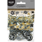 Gold Sparkling Celebration 30th Confetti 34g - 12 PKG