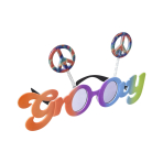 Fun Shades Groovy 60's Tinted - 6 PC