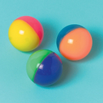 Two-Tone Bounce Ball - 6 PKG/12