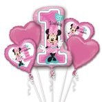 Minnie Mouse 1st Birthday Bouquet Foil Balloons P75 - 3 PC