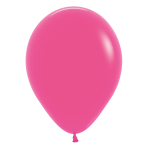"Fashion Colour Solid Fuchsia 012 Latex Balloons 15""/40cm - 50 PC"